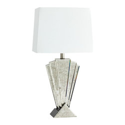 Cyan Design - Deco Reflections Table Lamp - Deco reflections table lamp - mirrored glass