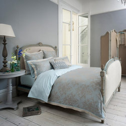Christy - Christy of England Fitzroy Duvet Cover - Oyster Multicolor - 120005571326016390 - Shop for Duvets from Hayneedle.com! The Christy of England Fitzroy Duvet Cover - Oyster has a sophisticated design inspired by the classic styling of stately British homes and antique damask fabrics. This duvet cover showcases a smooth handle and elegant trim bordering a face adorned in an ornate floral pattern with warm grays subtle blues and a soft sheen that adds a touch of luxury to your bedroom. Made from tencel and cotton jacquard the Christy of England Fitroy Duvet Cover updates outfits your bedroom in cozy comfort that you'll especially love in the winter.Dimensions:Queen: 92L x 98W in.King: 110L x 98W in.About Christy LifestyleAmazing how something so soft could have such an incredible impact on the world. In 1850 Henry Christy procured a small sample of looped pile fabric unseen in the Western World. He and his brother Richard Christy were taken with the delicate feel and incredible absorbency of the material and soon learned ways of reproducing the loop pile mechanically. The mass-produced terrycloth was an instant sensation that even Queen Victoria ordered in abundance. One hundred sixty-five years later the Christy name is still at the height of luxury home interiors and stands as England's premier retailer of everything from exquisite homewares to famous Egyptian cotton towels. Christy has even become the official towel supplier of Wimbledon.