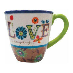 """WL - 4 Inch """"Love"""" 12 oz Coffee/Tea Mug Collectible Kitchen-Ware Decoration - This gorgeous 4 Inch """"Love"""" 12 oz Coffee/Tea Mug Collectible Kitchen-Ware Decoration has the finest details and highest quality you will find anywhere! 4 Inch """"Love"""" 12 oz Coffee/Tea Mug Collectible Kitchen-Ware Decoration is truly remarkable."""