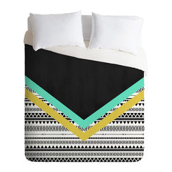 DENY Designs - Allyson Johnson Mixed Aztec 1 Duvet Cover - Turn your basic, boring down comforter into the super stylish focal point of your bedroom. Our Luxe Duvet is made from a heavy-weight luxurious woven polyester with a 50% cotton/50% polyester cream bottom. It also includes a hidden zipper with interior corner ties to secure your comforter. it's comfy, fade-resistant, and custom printed for each and every customer.