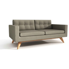 Midcentury Love Seats by True Modern