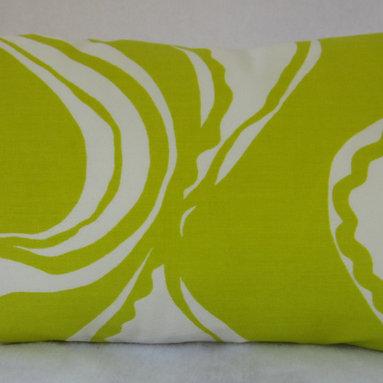 Trina Turk Lumbar Pillow Cover - Carmel Coastline Sulphur -