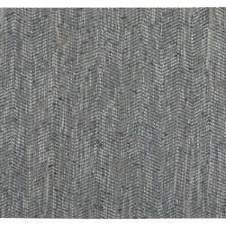 Uttermost - Branson Woven Rug - Keep your hardwood floors under cover with this hand-woven rug that's made of blue denim and light grey leather. Its relaxed, laid-back style will give your space a warm, welcoming feel.