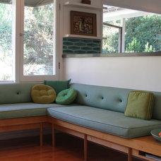 Midcentury Dining Room by Design Vidal