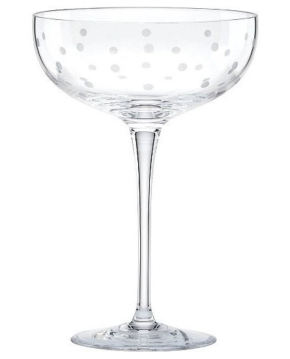 contemporary glassware by kate spade