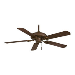 "Minka Aire - Minka Aire F589-ORB Sundowner Bronze Energy Star 54"" Outdoor Ceiling Fan - Energy Star Rated"