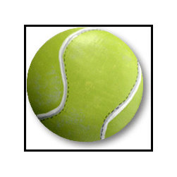 Tennis Ball Knob - Reinforce your child's love of tennis with these individual custom drawer knobs. Crafted of quality wood, these pops of grand slam inspiration will have you and your child in love love.