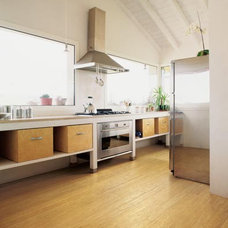 Contemporary Wood Flooring by EcoTimber