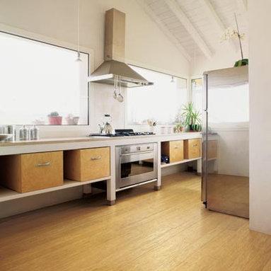 Honey Bamboo Strand Flooring -
