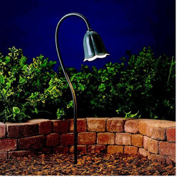 Kichler Lighting - Kichler Lighting - 15349MST - Tulip - One Light Path Lamp - Bulb Included