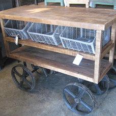 Eclectic Bar Carts by Nadeau Furniture- Homewood Alabama