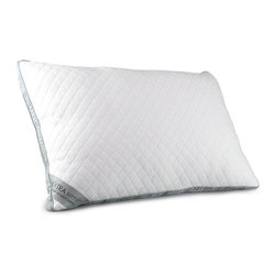 Serta - Serta Perfect Sleeper Extra Support Pillow - Have your best sleep on the Serta Extra Support Pillow with a gusseted soft knit diamond-pattern fabric for extra support and maximum contouring. Filled with free-flowing polyester fiber,this pillow is perfect for shaping and resiliency.