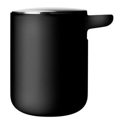 MENU - Soap Pump - A streamlined soap dispenser shows a little extra effort, and is just the finishing touch for a modern bathroom. Because when you're going high design and minimalist style, the last thing you want is a branded soap bottle from the store adding visual clutter.