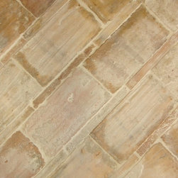 Antique Yellow Terracotta  'Sienese' - Antique Yellow Terracotta tiles 'Sienese' reclaimed from the south of Italy.