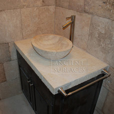 Mediterranean Bathroom Countertops by Ancient Surfaces