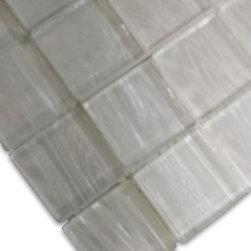 GlassTileStore - Sample-Metallic Cosmic Dust 2x2 Glass Tiles Sample -