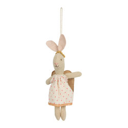 Maileg - Bunny Angel Ornament - This dreamy bunny is the perfect animal to decorate a room, a stroller, or your christmas tree!