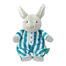"""Kids Preferred - Kids Preferred Goodnight Moon Bean Bag Bunny - This velvety-soft plush 9"""" Goodnight Moon Bean Bag Bunny features an embroidered face and PJ bottoms."""
