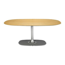 Coalesse - Denizen Oval Table | Coalesse - Design by Jess Sorel & Otto Williams, 2009.