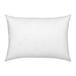 """12"""" X 18""""  Polyester Filled Pillow Insert - Size: 12"""" x 18"""" , 100% Polyester Fill"""