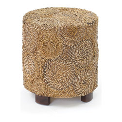 Go Home - Round Banana Stool - Our Vintage Industrial Collection is the definition of urban chic. Reclaimed wood, rusted iron and time worn accents insure that our unique collection of furniture, accessories and lighting will take center stage in any style of decor. Mix and match with our Rural Chic and Beach House Collections for a stylish eclectic look your friends will think you paid a designer for.