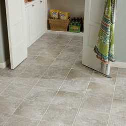 Kitchen With Affinity Grey Dal Tile
