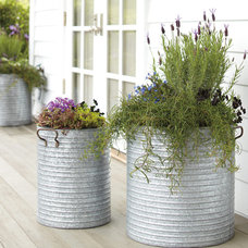 Traditional Outdoor Planters by Rejuvenation