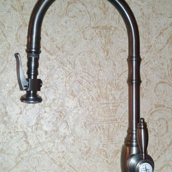 Waterstone 5500 Traditional Pull down faucet (new) - The new for 2012 Traditional pull down faucet by Waterstone.
