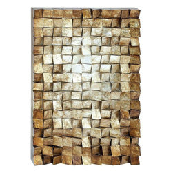 Benzara - Unique Design Wood Wall Art with Exquisite Styling - Give your home a more distinctive appeal with this beautiful Wood Wall Art which features a simple, yet unique design. Perfect for incorporating in casual settings, this art piece makes a great addition to living room settings as it has a subtle modern appeal that can complement contemporary decors exceptionally well. It features pieces of wood put together in an uncanny manner, creating a more interesting look. The art piece is made with quality wood that is sure to last long and has a natural finish that can blend in well with different settings. Crafted by master artists, this wall art includes minimal detailing with exquisite styling which adds an interesting touch to the overall design. This durable piece of art will continue to delight you for years to come. You can consider gifting it to your beloved for her appreciation.