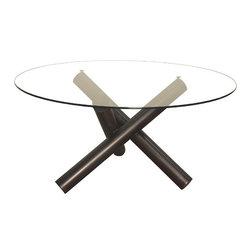 NOIR - NOIR Furniture - Trois Dining Table - GTAB475MT - Features: