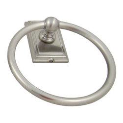 Westwood Towel Ring - Westwood towel ring in satin nickel.