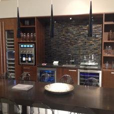 Contemporary Wine Cellar by Signature Designs Kitchen & Bath