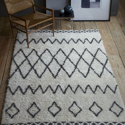 Kasbah Rug - Every office needs a great rug. I love texture to warm up a space.