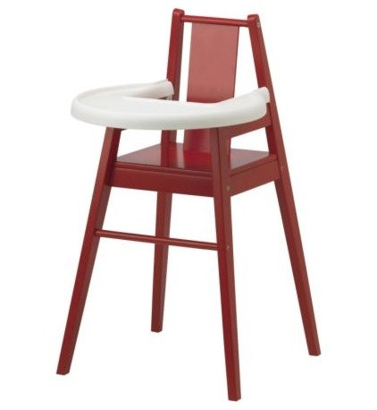 modern highchairs by IKEA