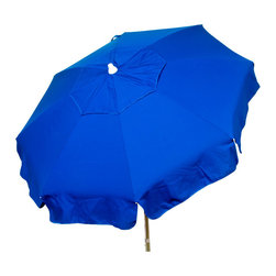 """DestinationGear - Italian 6 ft Umbrella Acrylic Solid Purple - Patio Pole, Blue, 72"""" X 72"""" X 91, B - Taking in the sun on the Amalfi coast is to some a dream come true.  In the case of the DestinationGear Italian Bistro style umbrellas, you'll feel like you are in Italy when you open up this 6 foot diameter shade provider.  Stylish, high-quality and designed for the patio, beach or camping outing."""