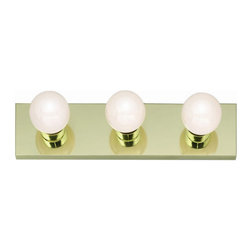 "Nuvo Lighting - Nuvo Lighting 77/188 Three Light 18"" Bathroom Bar Light, in Polished Brass Finis - Nuvo Lighting 77/188 Three Light 18"" Bathroom Bar Light, in Polished Brass FinishNuvo Lighting 77/188 Features:"