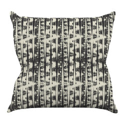 """Kess InHouse - Amanda Lane """"Black Cream Abstract"""" Throw Pillow (26"""" x 26"""") - Rest among the art you love. Transform your hang out room into a hip gallery, that's also comfortable. With this pillow you can create an environment that reflects your unique style. It's amazing what a throw pillow can do to complete a room. (Kess InHouse is not responsible for pillow fighting that may occur as the result of creative stimulation)."""
