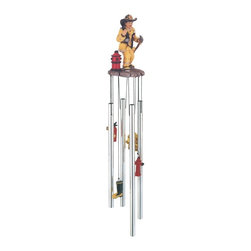 GSC - Wind Chime Round Top Fireman on Call Hanging Garden Decoration Decor - This gorgeous Wind Chime Round Top Fireman on Call Hanging Garden Decoration Decor has the finest details and highest quality you will find anywhere! Wind Chime Round Top Fireman on Call Hanging Garden Decoration Decor is truly remarkable.