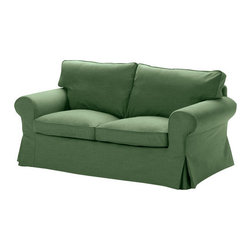 IKEA of Sweden - EKTORP Loveseat cover - Loveseat cover, Svanby green