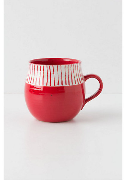 eclectic mugs by Anthropologie