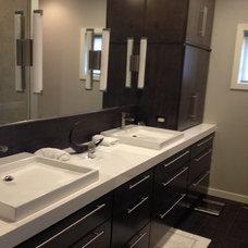 Contemporary Bathroom by Mosquito Creek Home Renovations