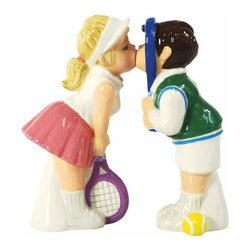 WL - 4 Inch Kitchenware Tennis Couple Figurines Salt and Pepper Shakers - This gorgeous 4 Inch Kitchenware Tennis Couple Figurines Salt and Pepper Shakers has the finest details and highest quality you will find anywhere! 4 Inch Kitchenware Tennis Couple Figurines Salt and Pepper Shakers is truly remarkable.