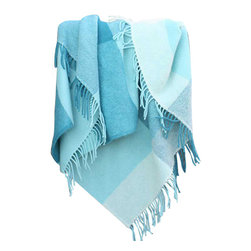 """Happy Blanket - 100% Wool Throw Blanket 51"""" x 67"""" - Wool is a natural temperature regulator, naturally hypoallergenic, naturally breathable and even improves sleep quality."""