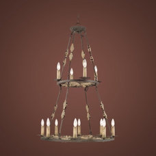C186-21212-AL By Jeremiah Lighting-Autumn Leaf Collection autumn leaf Finish 12