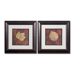 Uttermost - Uttermost 33570 Golden Fall Wall Art - Uttermost 33570 Golden Fall Wall Art