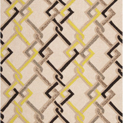 Surya - Surya Rain RAI-1122 (Ivory, Multi) 9' x 12' Rug - Rain or shine, these rugs look great outdoors! These hand hooked all weather rugs are manufactured to withstand the rigors of outdoor use. You don't need to worry about ruining your rug by spilling a drink or dropping food, just hose off and it's clean! The colors and designs we specially created to add to the outdoor ambiance.