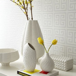 """Charade"" Porcelain Collection by Jonathan Adler - Classic white pieces by Jonathan Adler"