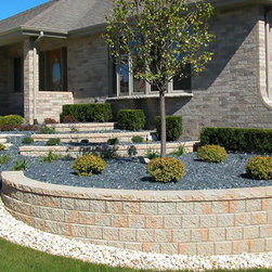 Hardscape Pisa II Wall Stone - Pisa II Wall StoneFor details and additional information on installing a retaining wall with Valley City Supply, please contact us at 330-483-3400 or visit our website at ValleyCitySupply.com