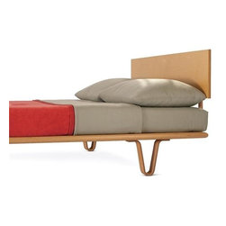 Bentwood Leg Bed by Modernica - Bentwood Leg Bed by Modernica Case Study Bedroom Furniture at Accurato Furniture Store www.Accurato.com
