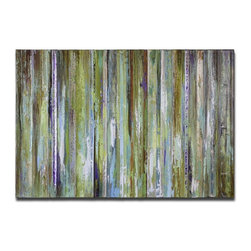 Grace Feyock - Grace Feyock 34212 Colorful Expressions Canvas Wall Art / Wall Decor - This colorful hand painted artwork on canvas has been stretched and attached to wooden stretching bars. Due to the handcrafted nature of this artwork, each piece may have subtle differences.